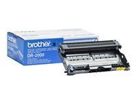 Brother DR-2000 - Original - trommelsett - for Brother DCP-7010, 7025, HL-2030, 2040, 2070, MFC-7225, 7420, 7820; FAX-28XX DR2000